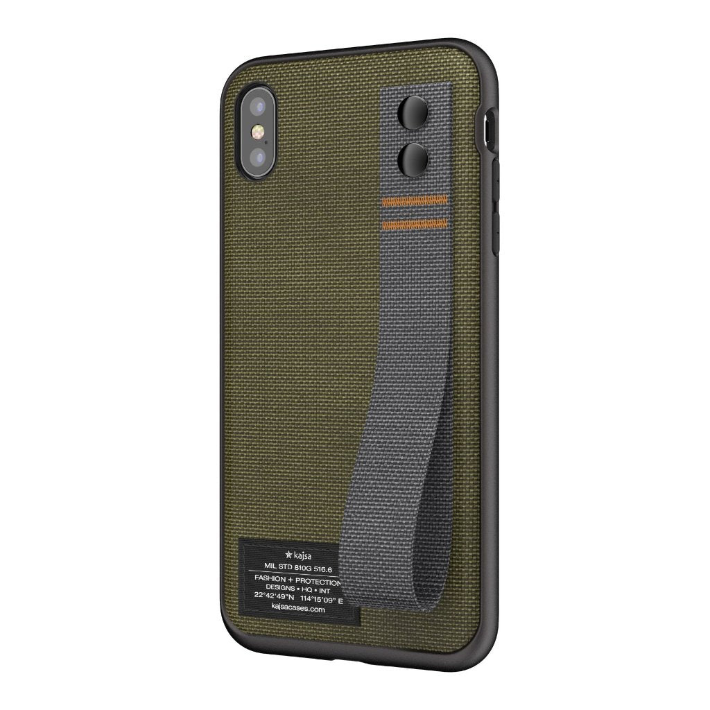 huge selection of 943f0 22efd Military Collection - Straps back case for iPhone XR / XS Max