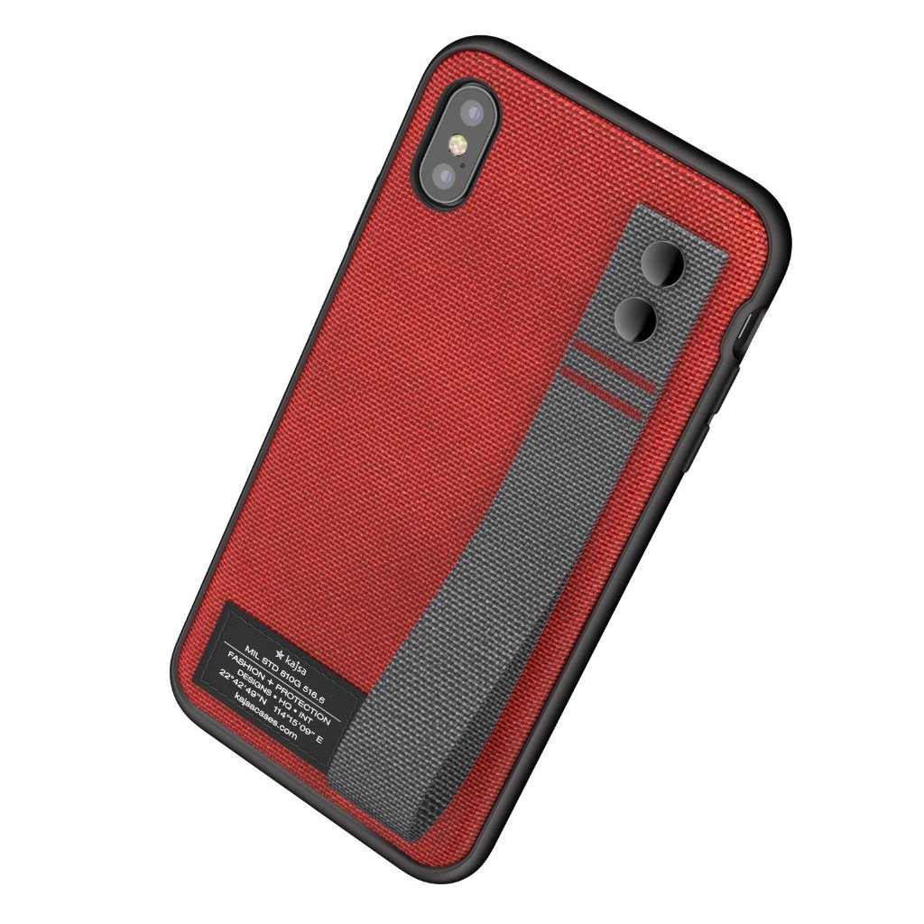 check out 46f0e 8777a Military Collection - Straps back case for iPhone X