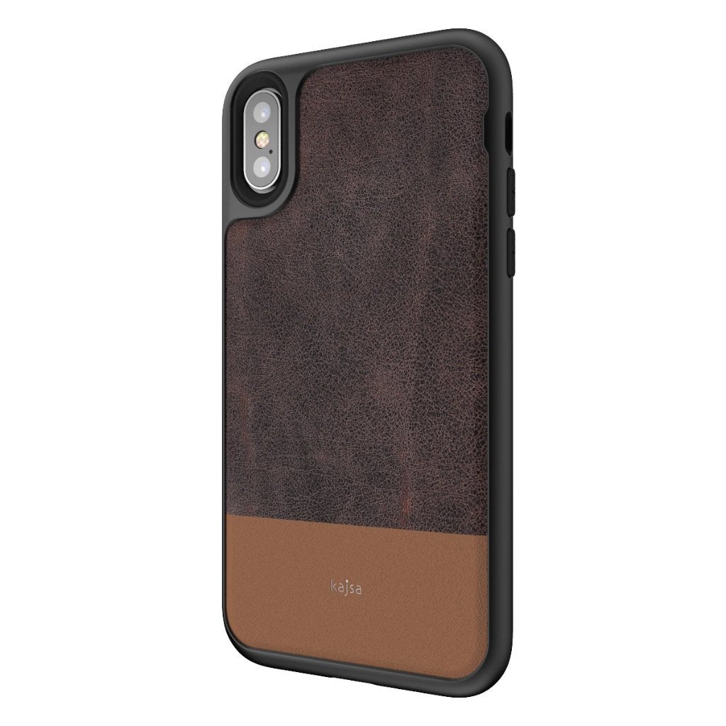 real leather iphone xr case