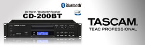 Tascam CD Player with Pitch Control & BlueTooth