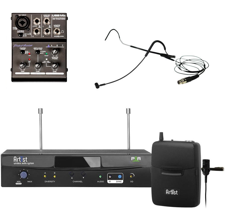Artist Wireless Mic System for Streaming & Recording Voice & Music