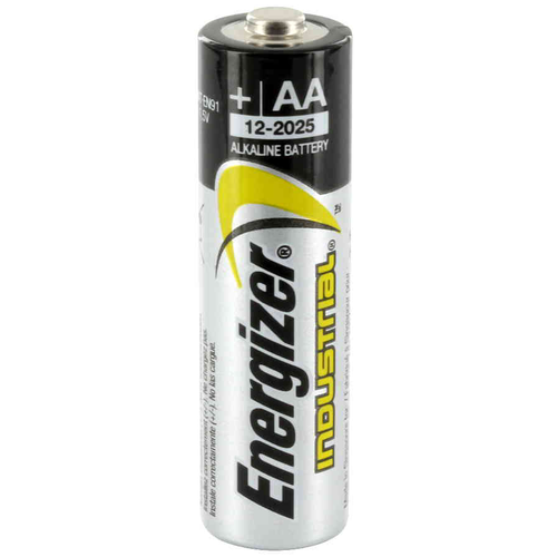 Box of AA Energiser Industrial Long Life Batteries (24)