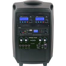 HELIX 765 Portable PA System For Portable Group Fitness or Online Streaming & Recording