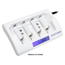 Charger + Rechargeable AA & AAA Batteries Package Deal