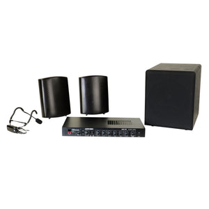 Small Group Exercise Sound System Package