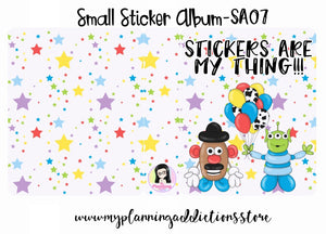 SA07-Stickers are my Thing!!