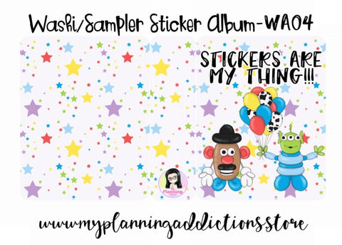 WA04-Stickers are my Thing!!