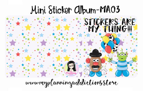 MA03-Stickers are my Thing!!!