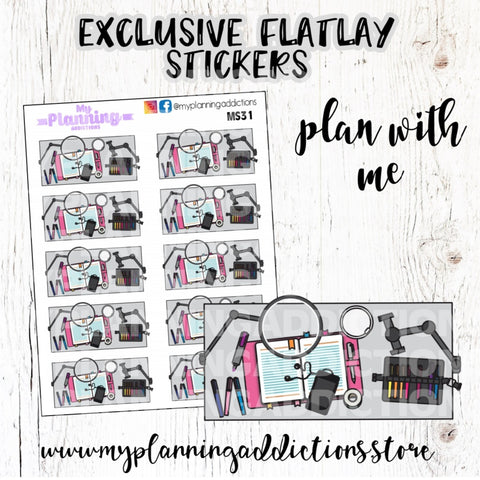 MS31-Plan with me FlatLay