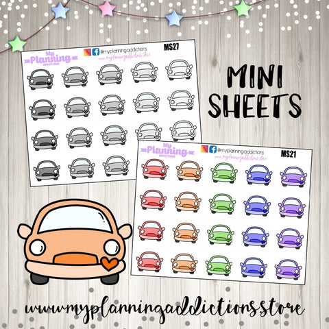 *Car Icon/ICONS/PLANNER STICKERS