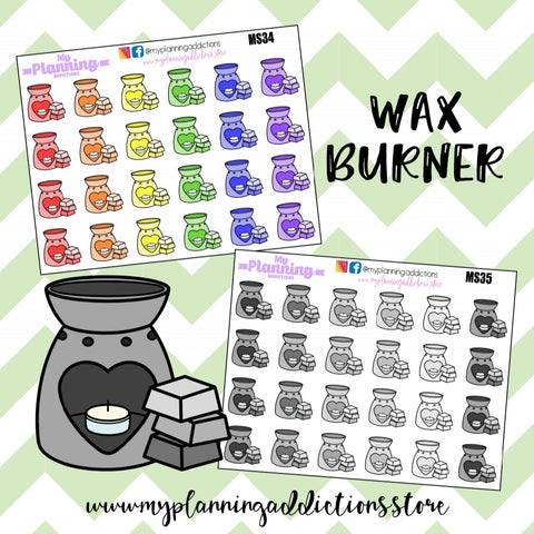 *WAX BURNER/ICONS