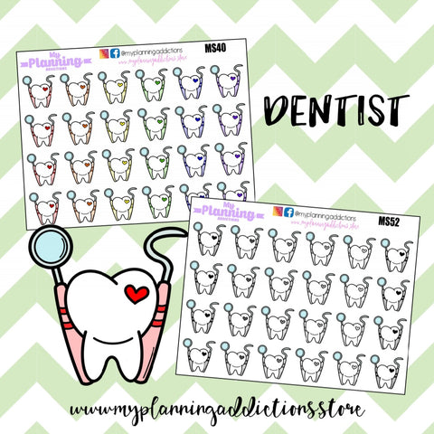 *DENTIST/ICONS/PLANNER STICKERS