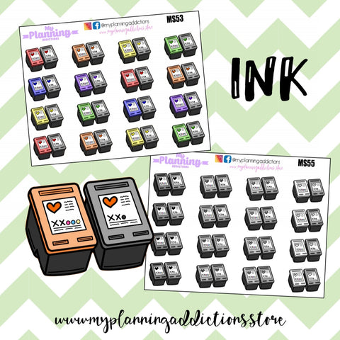 *BUY INK/ICONS/PLANNER STICKERS