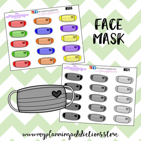 *FACE MASKS/ICONS/PLANNER STICKERS