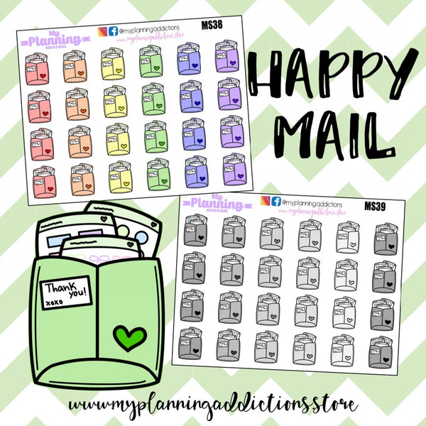 *HAPPY MAIL/ICONS/PLANNER STICKERS