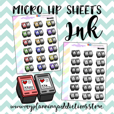MICROHP48-49: BUY INK/ICONS/PLANNER STICKERS