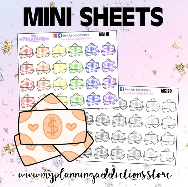 *PAYDAY/ICONS/ PLANNER STICKERS