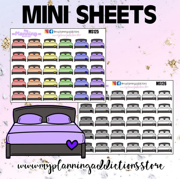 *BEDDING/ICONS/PLANNER STICKERS