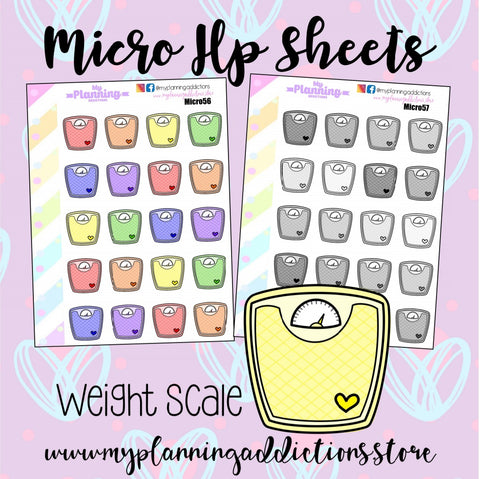 MICROPHP56-57: WEIGHT SCALES