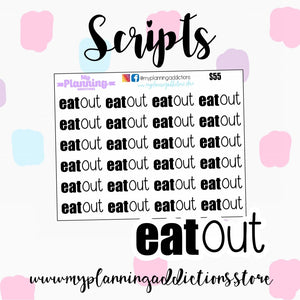 S55: Eat Out scripts