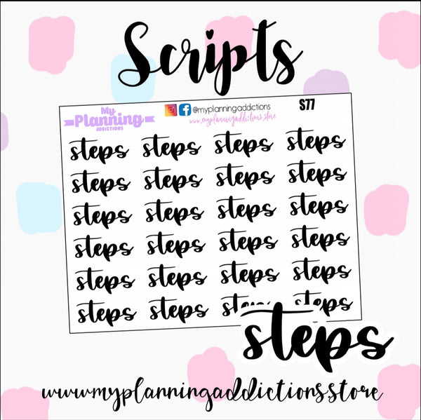 S77: Steps Scripts