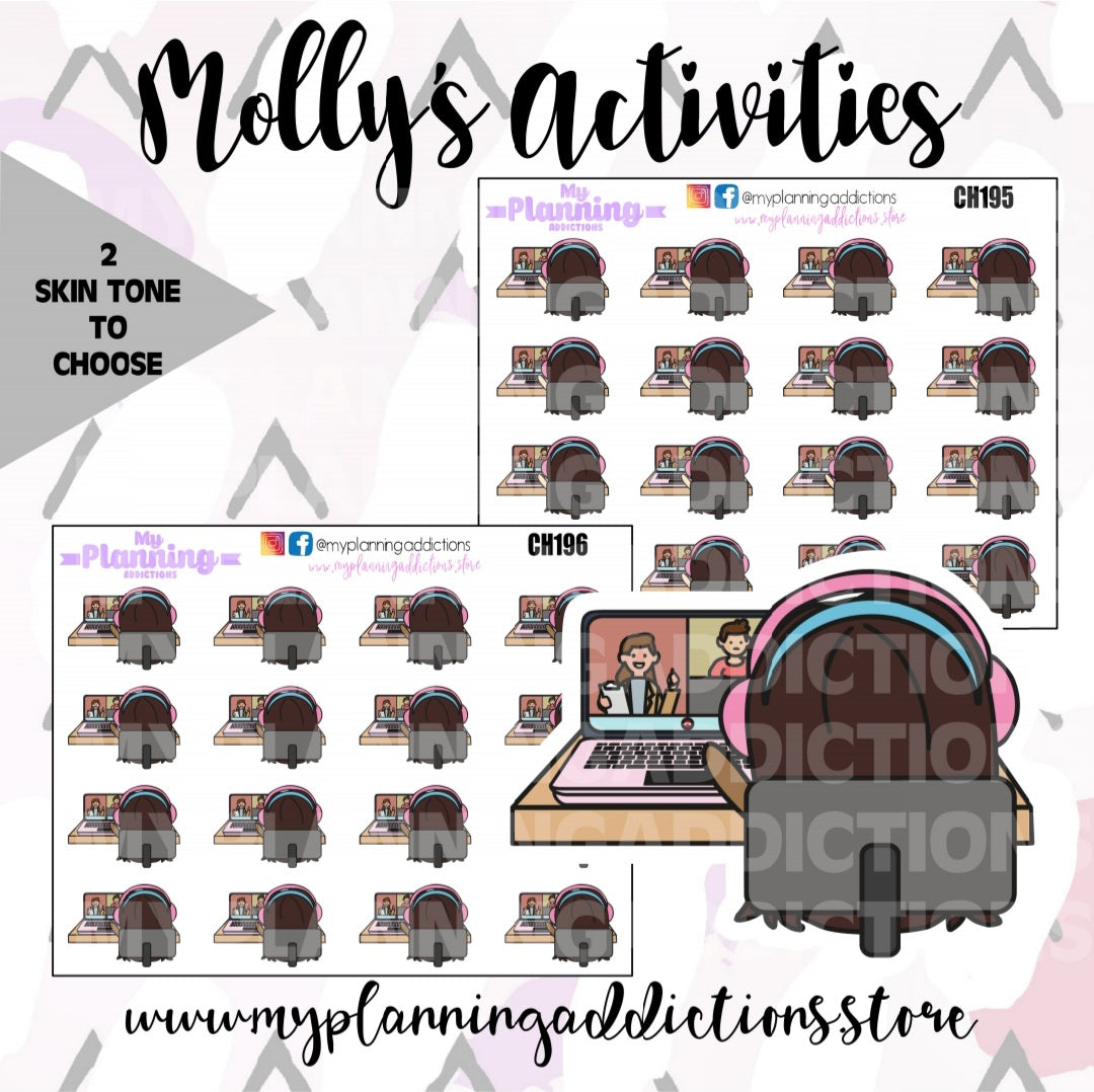 CH195-196: Molly Distance Learning Chibi
