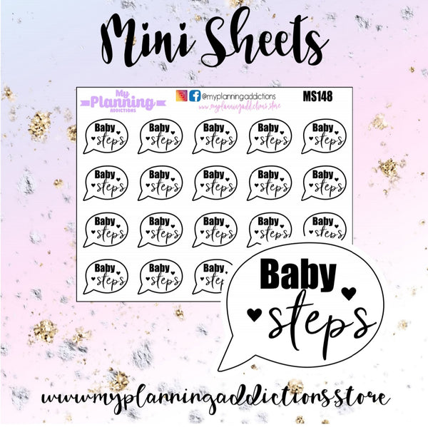 MS148: Baby Steps Bubbles