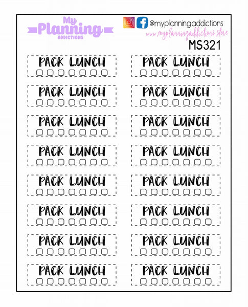 MS321-Pack Lunch Tracker