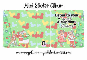 MA04-Listen to your heart & buy more stickers (Mini)