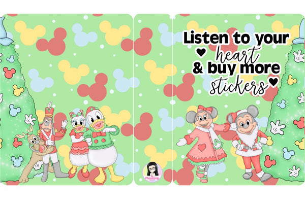SA04-Listen to your heart & buy more stickers (Small)