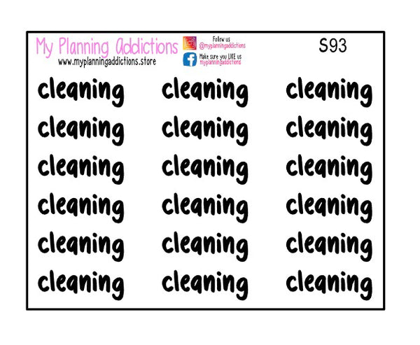 S93-Cleaning