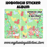 HA04-Listen to your Heart & buy more stickers (Hobonichi)