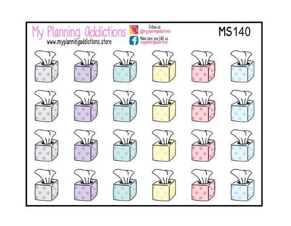 MS140-Tissue Box