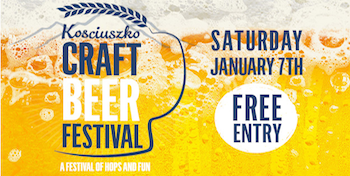 The Kosciuszko Craft Beer Festival – January 7th 2017