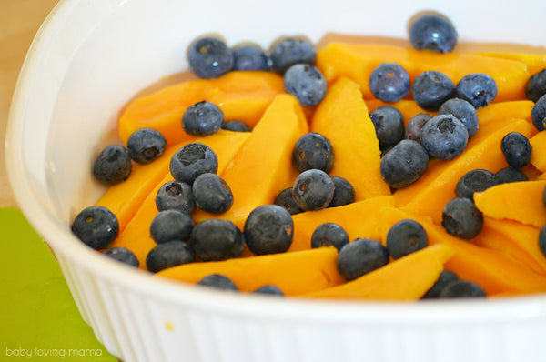 Blueberries, Mango and Cranberries - Oh my