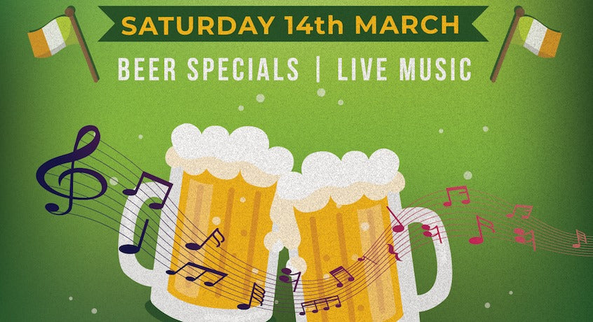 St Paddy's Day with Cassidy's Ceili Celtic Band