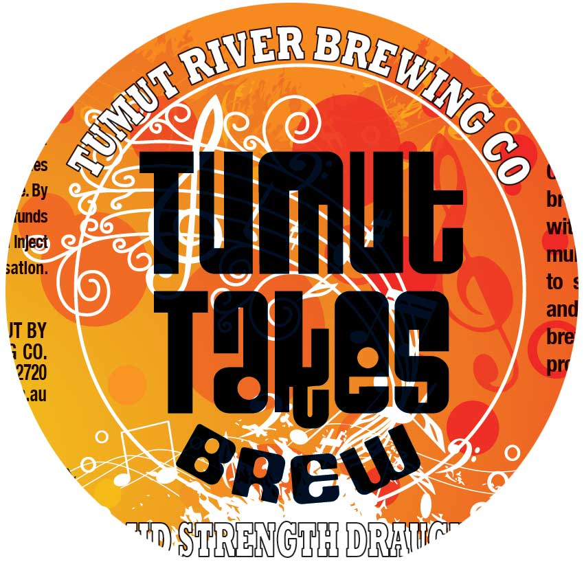 Tumut Takes Brew Bottle 330ML - Charity Fundraiser