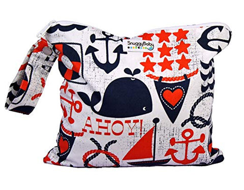Snuggy Baby Wet Dry Bag Anchors Away Small