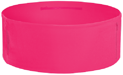 The TUBE Wearable Waistband One Band Three Pockets Hot Pink Medium - Large