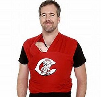 Moby Wrap MLB Edition Baby Carrier One Size Cincinnati REDS