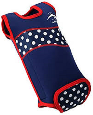 The Konfidence Babywarma 3-6 Months Navy Polka Dot