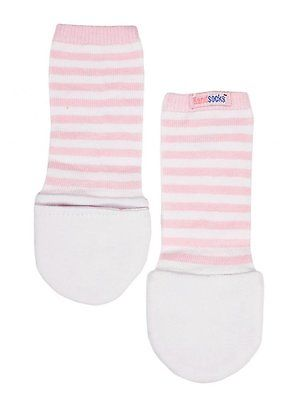 Handsocks Baby Warm No-Scratch Mittens by Handsocks Pink Small