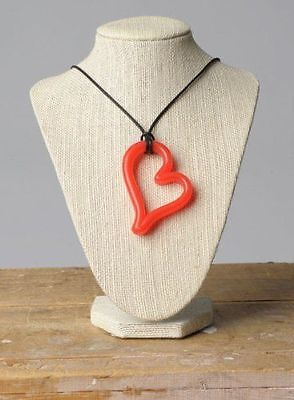 Teethease Heart Pendant - Red