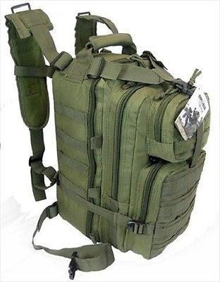 EXPLORER TACTICAL ASSAULT MILITARY BACKPACK-TC01OD Olive