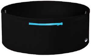 The TUBE Wearable Waistband One Band Three Pockets Black/Turquoise Small/Medium