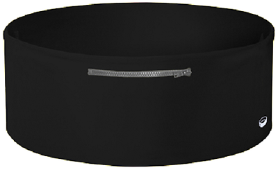 The TUBE Wearable Waistband One Band Three Pockets Black/Gray Medium-Large