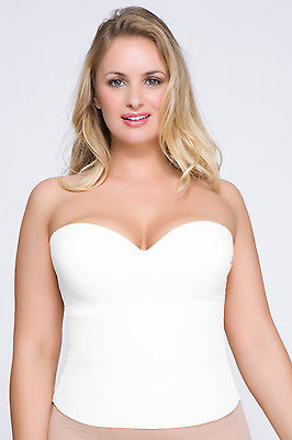 La Leche League - QT - Strapless Convertible Bustier - 1100 - White - 38D