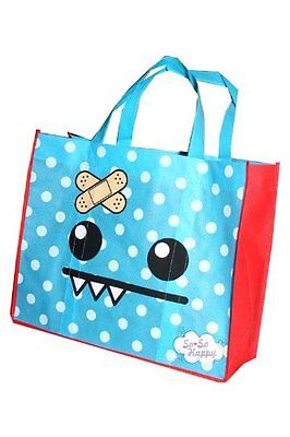 So So Happy Ozzie Reuseable Tote bag Blue New