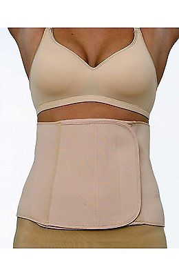 La Leche League 9-Inch Postpartum Abdominal Binder WN9 Nude Small