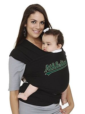 Moby Wrap MLB Edition Baby Carrier One Size Oakland Athletics